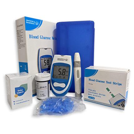 Glucómetro Medidor de Azúcar en Sangre
