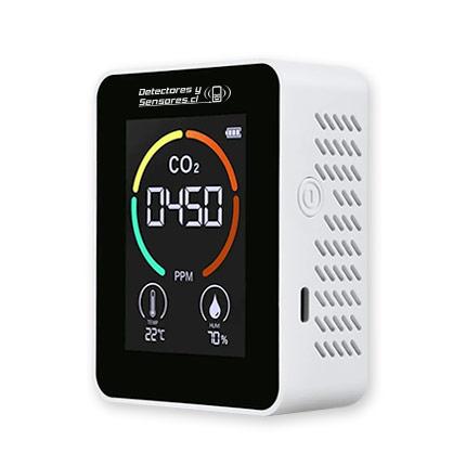 Detector CO2 Temperatura y Humedad Económico