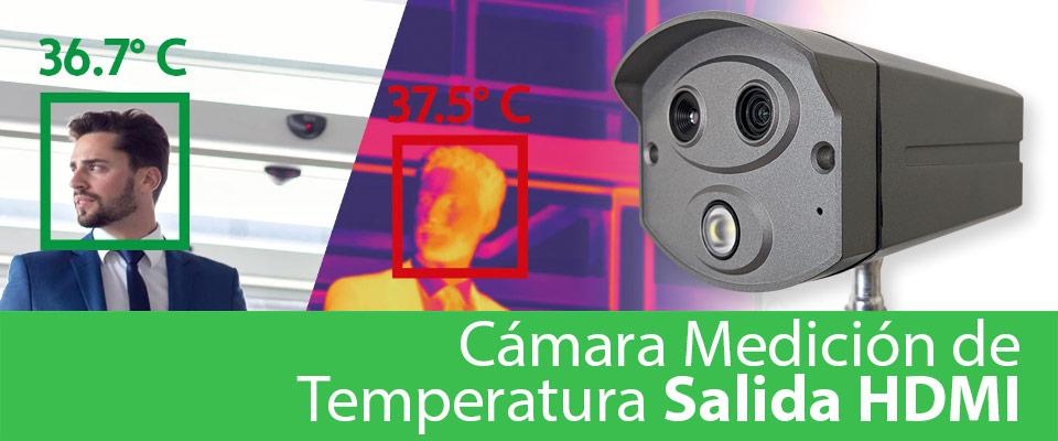 Destacado Cámara Temperatura Corporal Salida HDMI